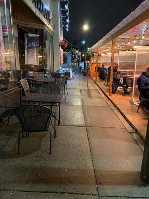 In Brookline, restaurants can operate outdoor dining through Dec. 7. But the extended outdoor dining season comes with some considerations, some say.