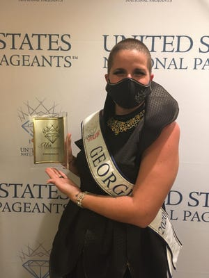 Aisha Manus of Grovetown was named Miss Congeniality in the Mrs. United States pageant in Palm Beach Gardens, Fla. that was held October 11-15, 2020.