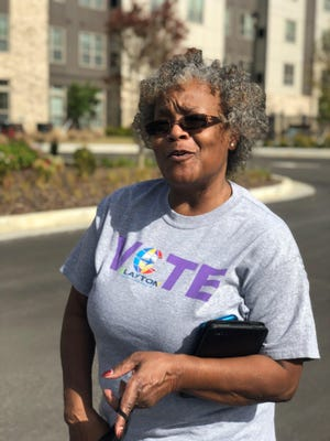 Delores Williams, of Clayton County, Ga., moved to the county from Brooklyn, N.Y., 35 years ago.