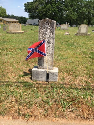 Confederate battle flags were recently removed from a cemetery in Boiling Springs in response to national racial tension.
