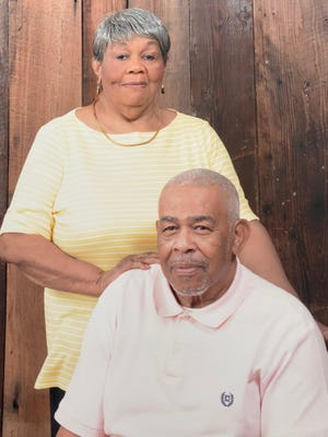 James Hope Phillips, who died last week at age 87, with his late wife, Betty.