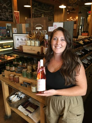 Morgan Pressley of Belmont is studying to become a sommelier at Johnson and Wales University in Charlotte.