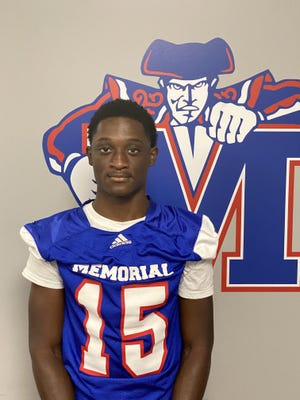Cam Hall of Memorial Day is the Savannah Morning News football player of the week.