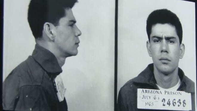 Ernesto Miranda's 1963 arrest and questioning on rape charges in Phoenix led to the Supreme Court decision recognizing a police responsibility to advise defendants of their rights - a Miranda warning.