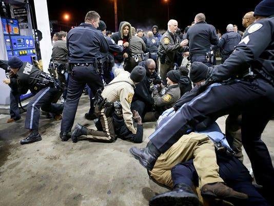 AP APTOPIX KILLINGS BY POLICE BERKELEY A USA MO