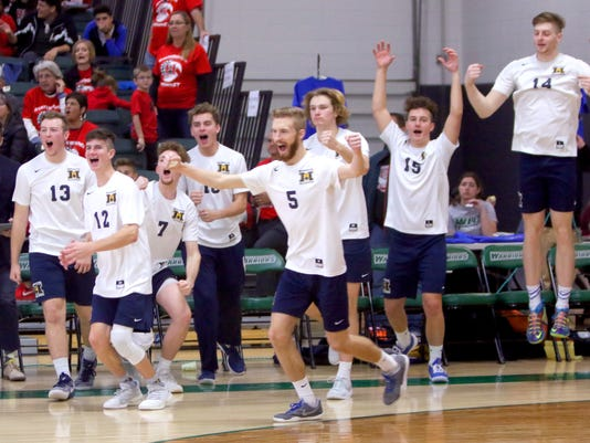 Marquette Boys Volleyball