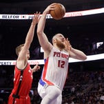 Baynes can leave, but says he has 'unfinished business' with Pistons