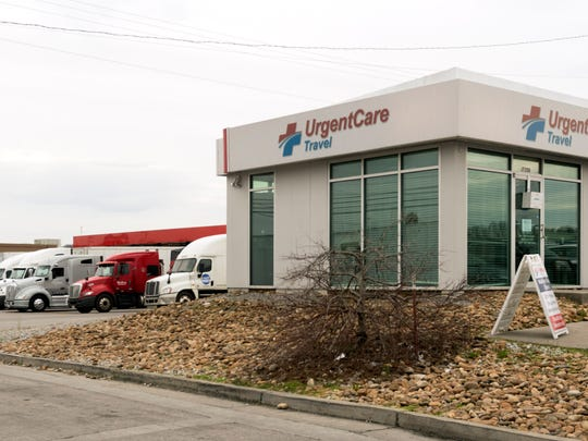 UrgentCareTravel clinic at the Pilot Travel Center at 7210 Strawberry Plains Pike on Monday, March 5, 2018. The clinic, which opened about four years ago, was the first of seven Pilot Flying J and UrgentCareTravel have opened together.
