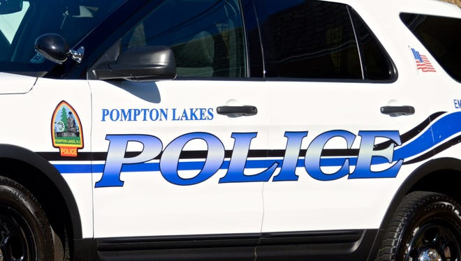 Pompton Lakes Police Department vehicle, November 2016.