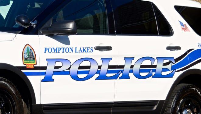 Pompton Lakes, N.J. police car.