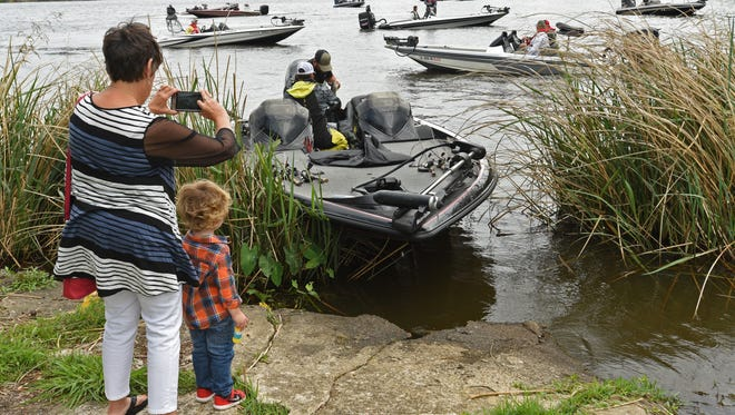 Bass fishing will take center stage at a number of area venues thoughout 2018 when at least six major tournaments will be held in the Shreveport-Bossier City area.