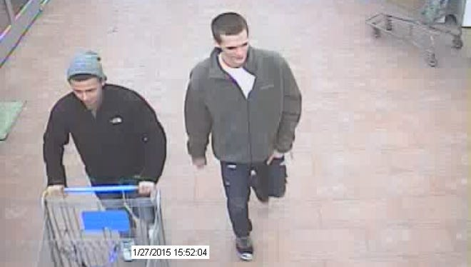 Oshkosh Police need help identifying two men suspected of using a credit card fraudulently.
