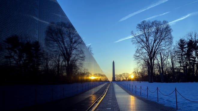 Vietnam War Memorial in Washington D.C.