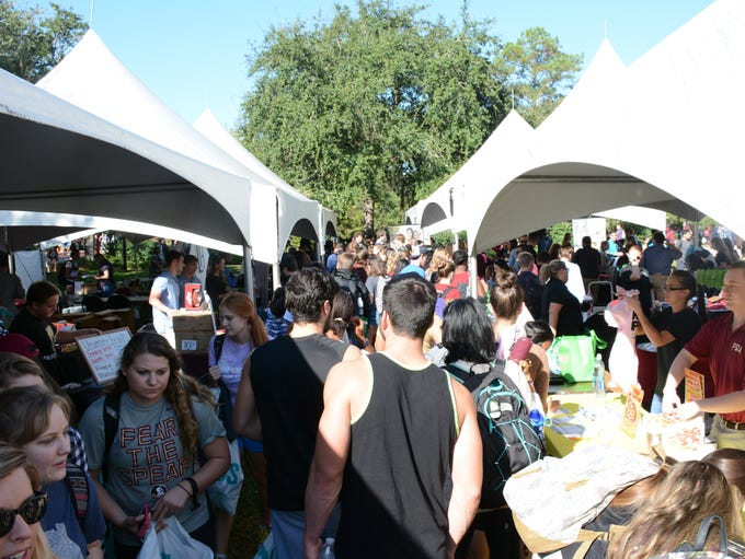 Student Living Fair at  the Union Green, Thursday,