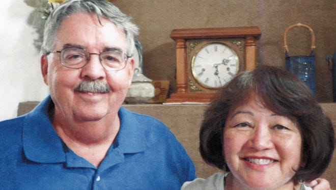 Gayle and James Barfoot marked 45 years of marriage earlier this month.