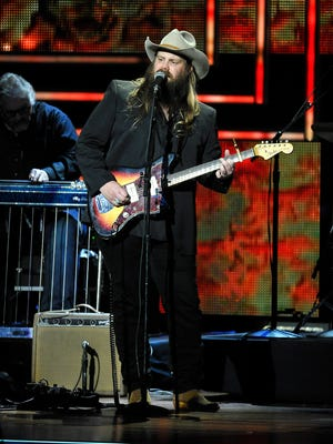Chris Stapleton will perform Thursday, Friday and Saturday nights at Ryman Auditorium.