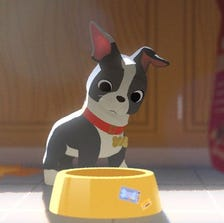 Meet Winston, a Boston Terrier that's sure to steal your heart in the new Disney animated short 'Feast.'
