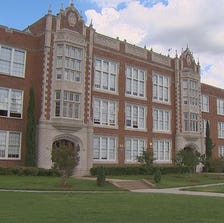 Police are searching for a student who delivered a fetus in a bathroom at Woodrow Wilson High School.