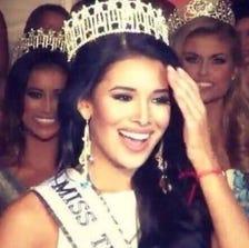 """UIW senior, Ylianna Guerra, crowned """"Miss Texas USA"""" 2015."""