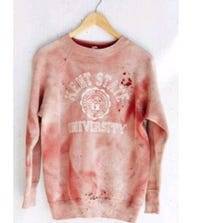 Vintage Kent State shirt sold by Urban Outfitters.