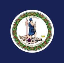 The flag of Virginia.