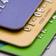 Many people use credit cards for small purchases.