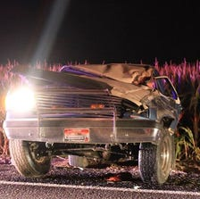 Three teens were injured in a Sunday morning crash.