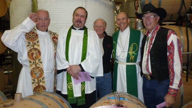 Every spring, Sonoita Vineyards invites a priest to give the blessing. And a minister. And a nondenominational clergyman. Just in case. The public is also invited for a day of wine tasting, winery tours, music and horseback rides at the annual Blessing of the Vineyards.
