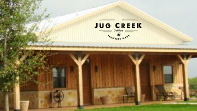 The Jug Creek Distillery building will be about 2,000 square feet on a 53-acre tract on Oregon Road near the Rutherford County line. A grand opening is targeted for spring 2017.