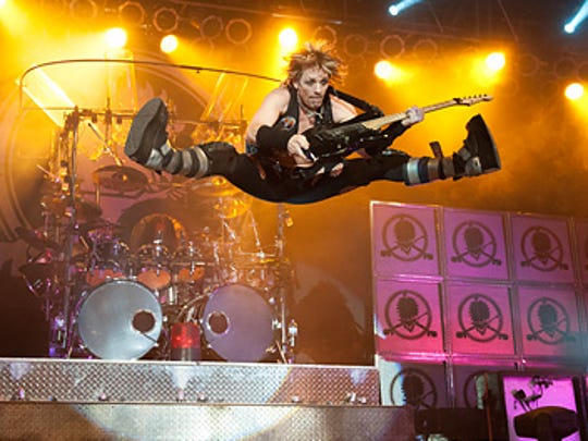 Happy, Hairball's lead guitarist, will join the rest of the band at The Victory on Saturday night.