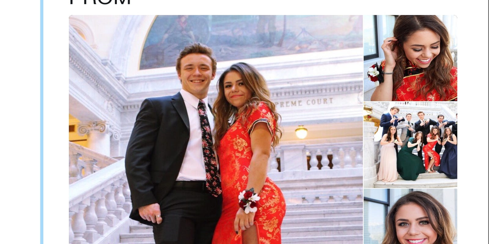 Chinese are OK with Utah teen\'s controversial cheongsam prom dress