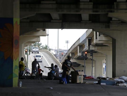 New Orleans homeless