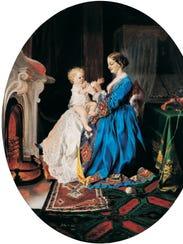 Lilly Martin Spencer (1822–1902), United States, Patty-Cake,