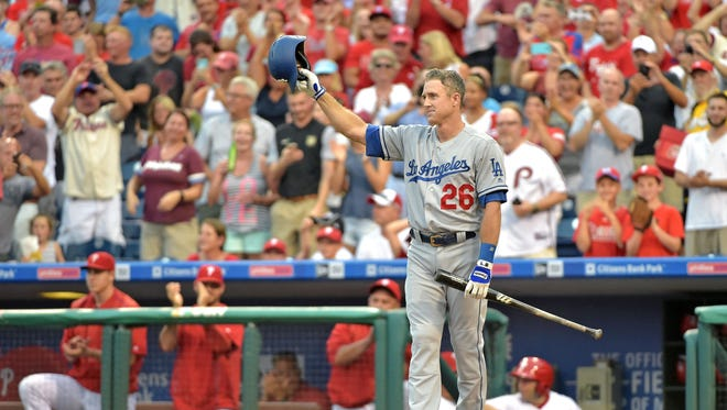 Chase Utley was a six-time All-Star in 13 seasons as Philadelphia's second baseman.