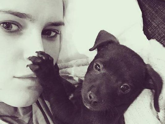 Rumer Willis and Delilah via Instagram