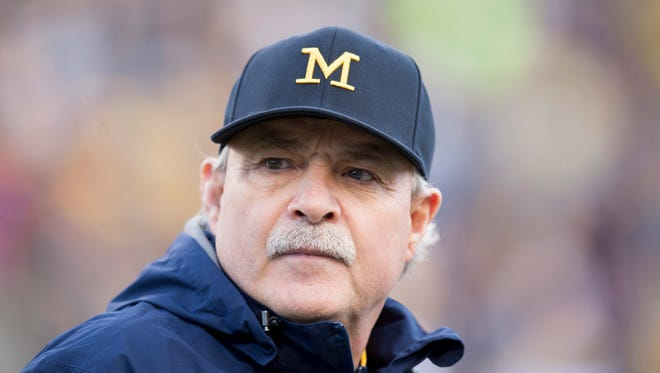 "Michigan defensive coordinator Don Brown is called ""Dr. Blitz"" because of his attacking, all-out blitzing defense."