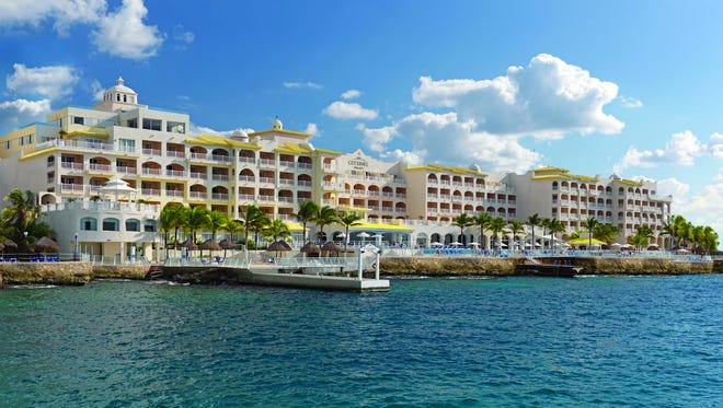 Cozumel Palace in Mexico.