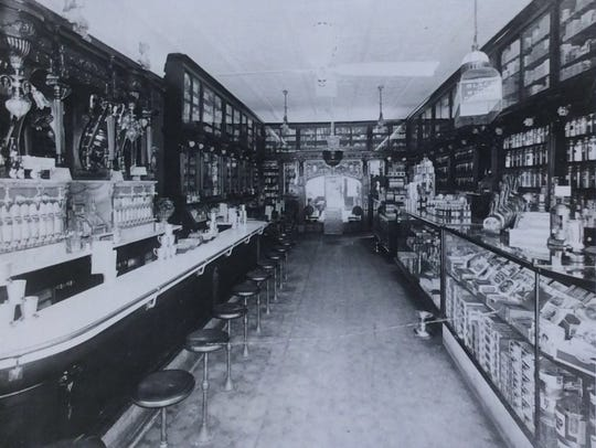 Rouser Capital Drug Store at 123 S. Washington Ave.,