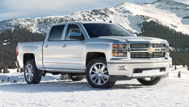 The 2014 Chevrolet Silverado High Country is a new luxury model in Chevy's redesigned truck lineup. It was unveiled this week at the Texas State Fair.