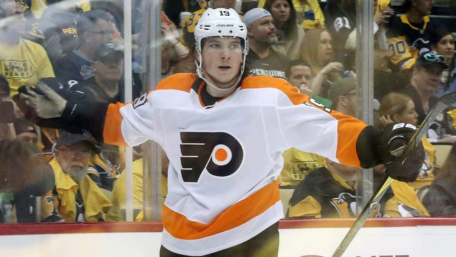 Nolan Patrick was the most high profile of the Flyers' rookies. He had 13 goals and 30 points in the regular season and scored in the playoffs.