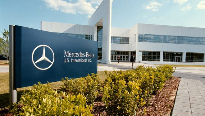 The Mercedes Benz plant in Vance.