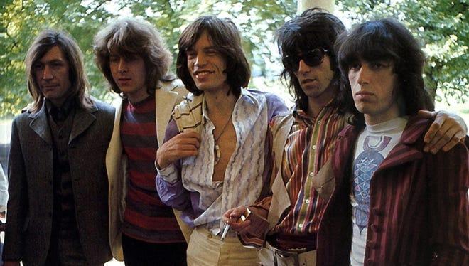 Rolling Stones in 1969: (L-R) Charlie Watts, Mick Taylor, Mick Jagger, Keith Richards, Bill Wyman.