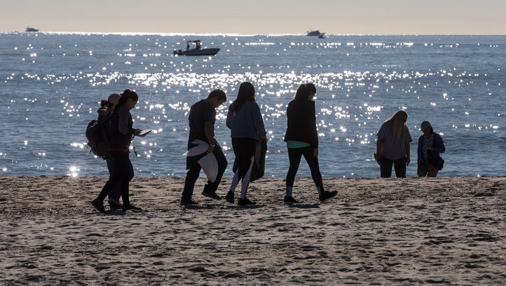 Clean Ocean Action's 32 annual beach sweeps takes place