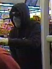 Suspect in Family Dollar robbery.