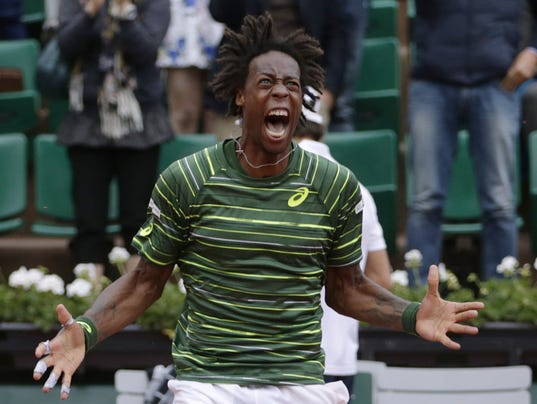 Gael Monfils French Open For Gael Monfils French