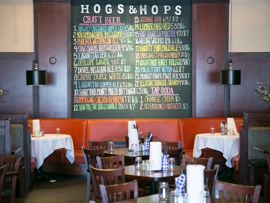 Hogs as well as Hops BBQ