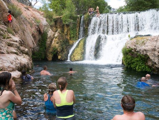 Visiting Fossil Creek As Of May 1 You Need A Permit