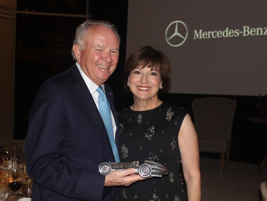 Autonation ceo mike jackson honored by mercedes benz for Autonation mercedes benz california