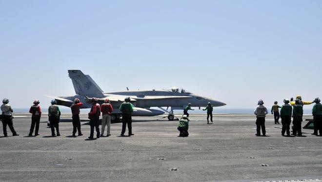 Navy FA-18 attack planes