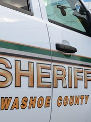 A file photo of a Washoe County Sheriff's patrol vehicle.
